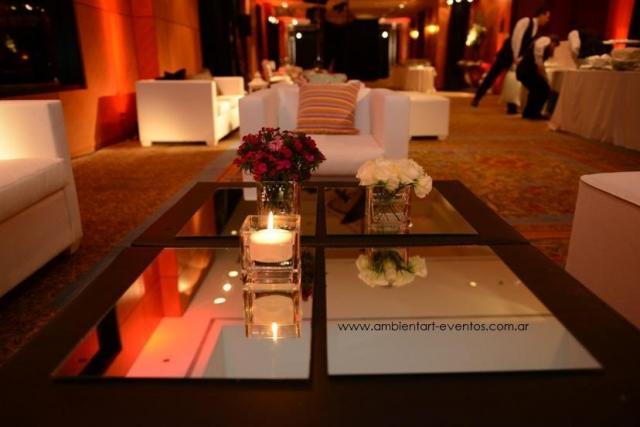 recepcion , living , centros de mesas , velas .... | Casamientos Online