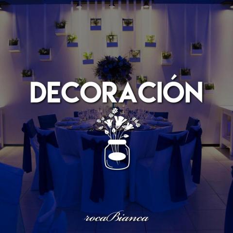 Servicio de decoración