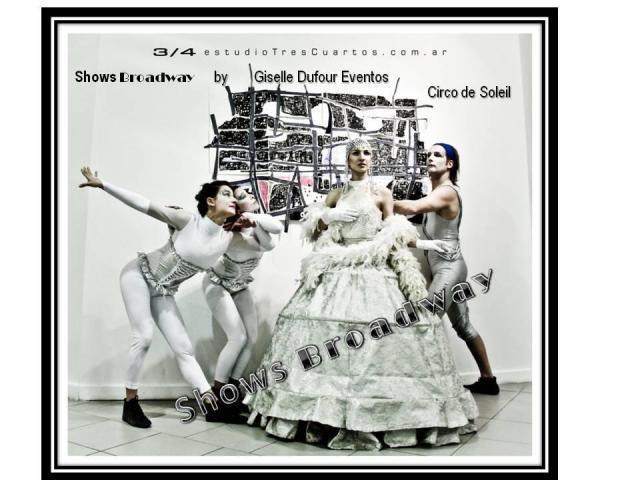 Show: ESTILO CIRQUE DU SOLEIL