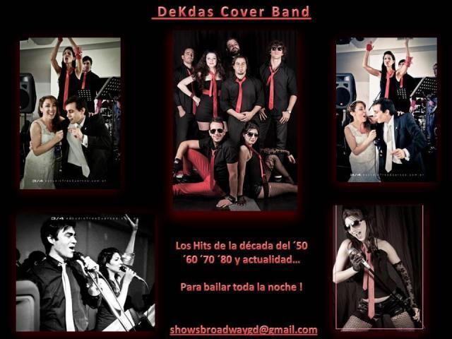 BANDA DE COVERS DEKDAS en vivo!  (Músicos + cantantes + sonido completo)