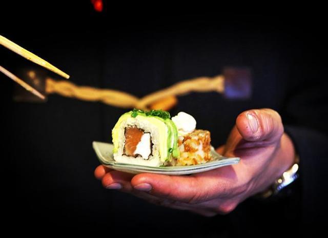 Sushi listo para servir