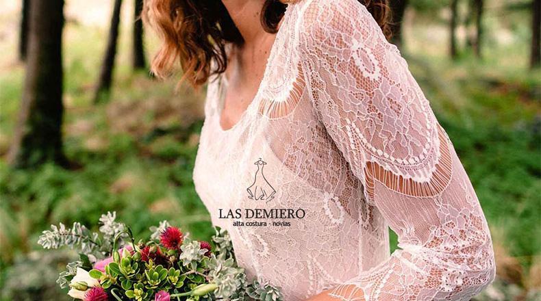 vestidos de novia. Las Demiero