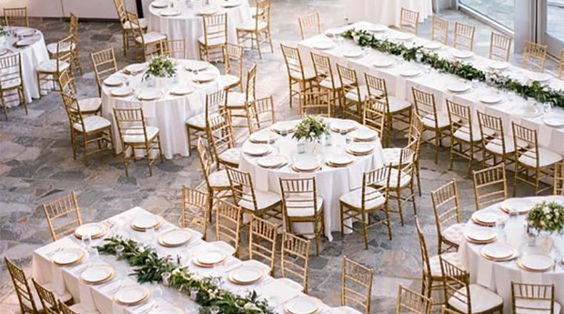 como organizar las mesas