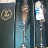 Copas personalizadas  de cristal para champagne
