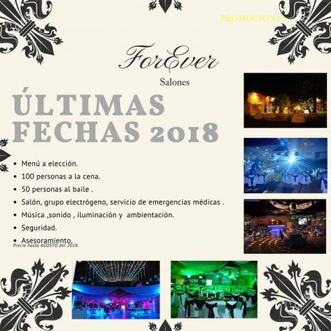 Salón For Ever  - Eventos 2018
