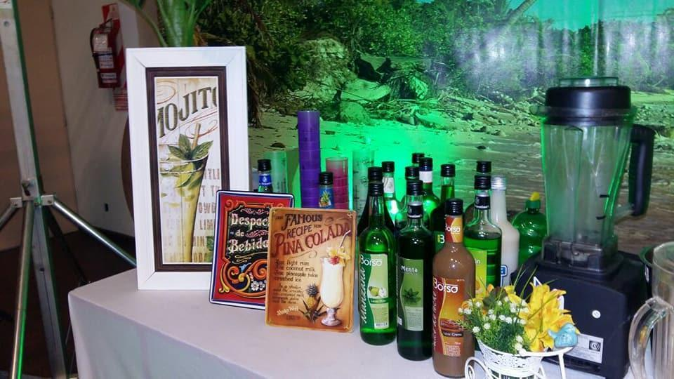 Guajiro eventos - Barra de tragos Tropical