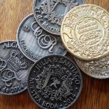 Monedas personalizadas Pisapapeles