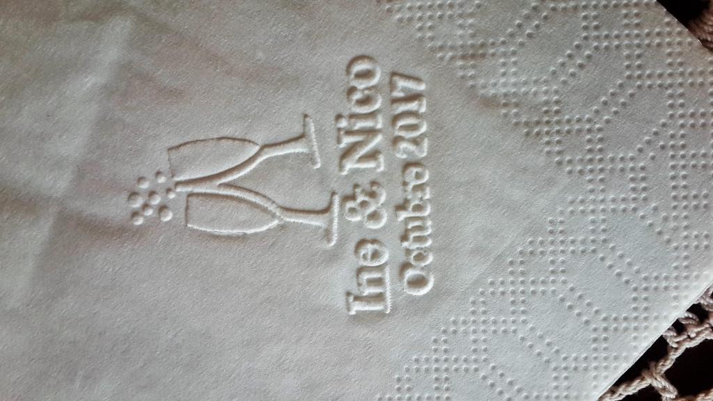 Servilletas personalizadas de papel tisú