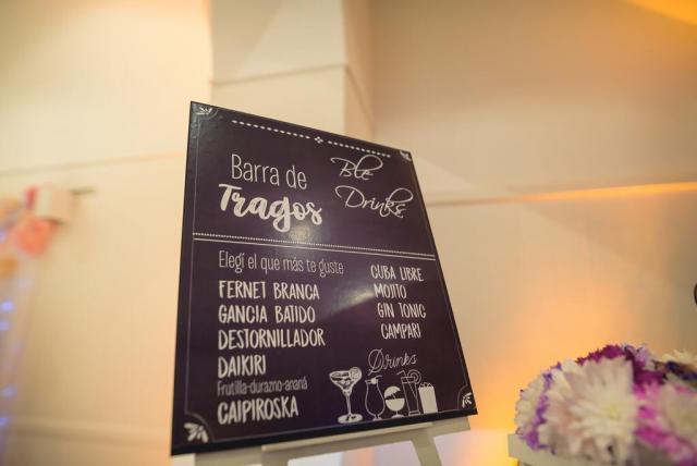 Barra de Tragos | Casamientos Online