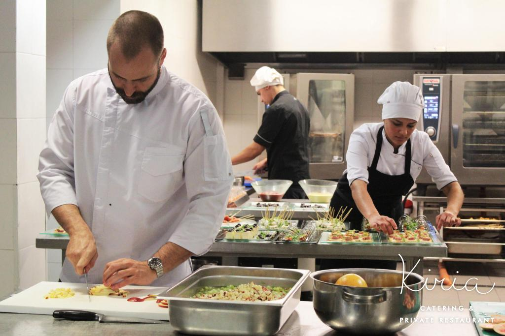 Equipo de Kiria Catering