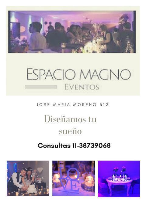 ESPACIO MAGNO (Salones de Fiesta)