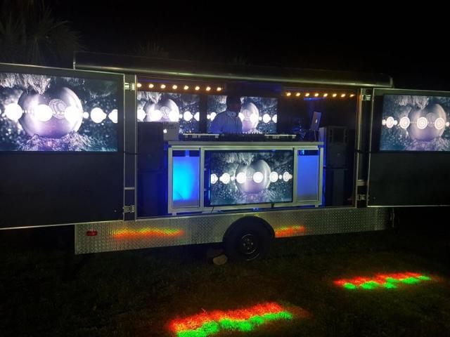 Moving Sound Dj Truck