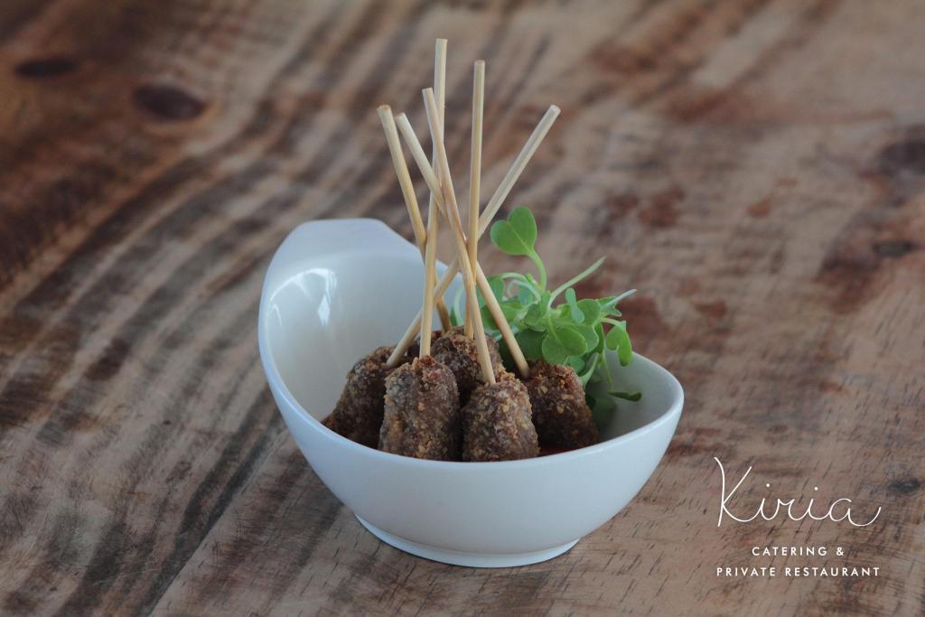 Finger food o mini porciones para los casamientos actuales