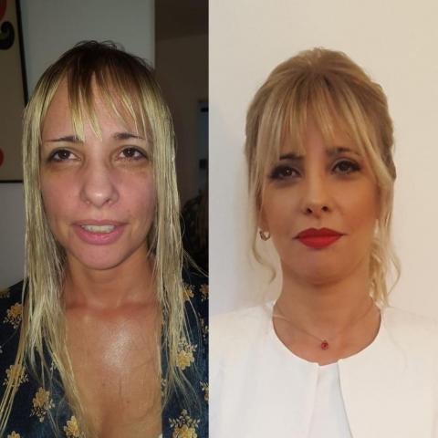 Promo Maquillaje y Peinado de Novia Ceremonia