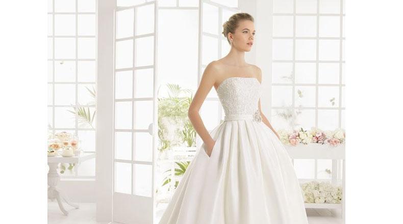 Los vestidos strapless resaltan los brazos tonificados