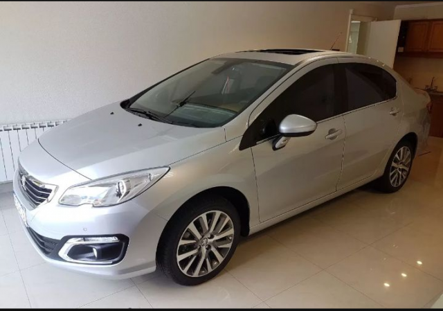 Peugeot 408 Feline plata  | Casamientos Online