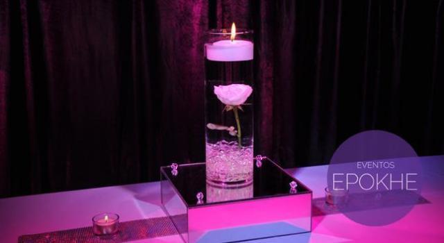 Centro de mesa Formal Diamond | Casamientos Online