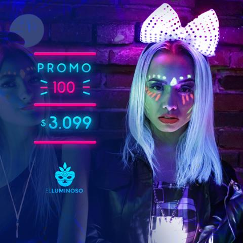Cotillón El Luminoso - Promo 100 personas