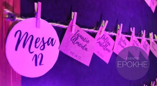 Eventos Epokhe - Totem Seat Plannig | Casamientos Online