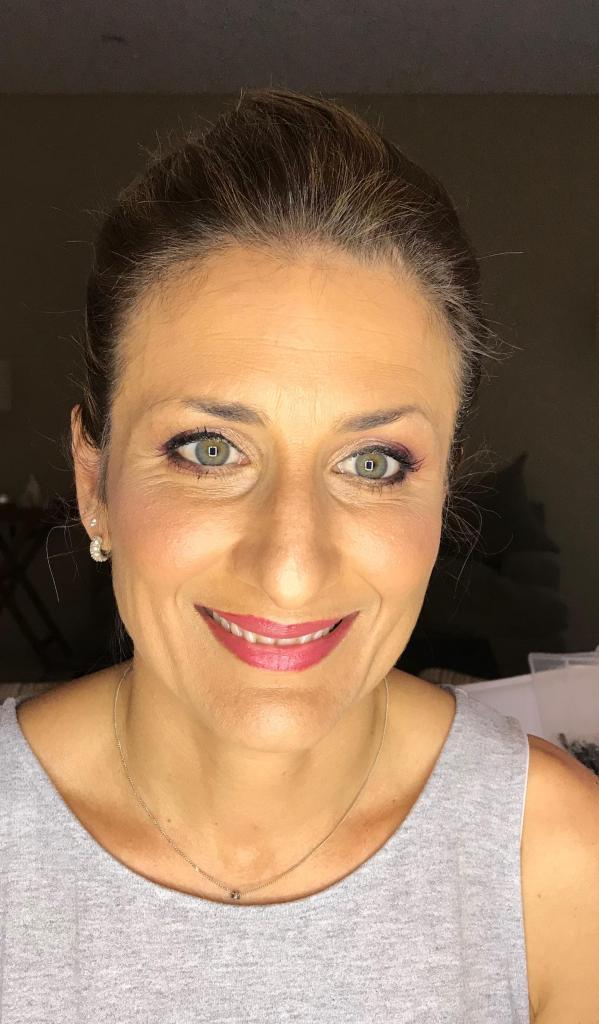 make up hermana novia