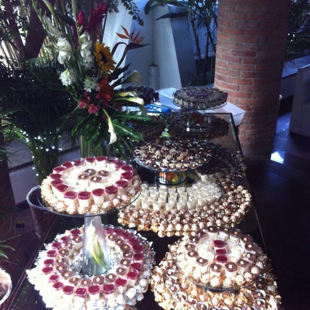 Mesa dulce elegante