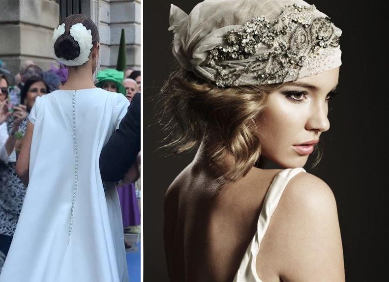 Tocados Royal y Turbante para novias no tradicionales