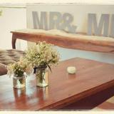 Centros de mesa vintage romántico