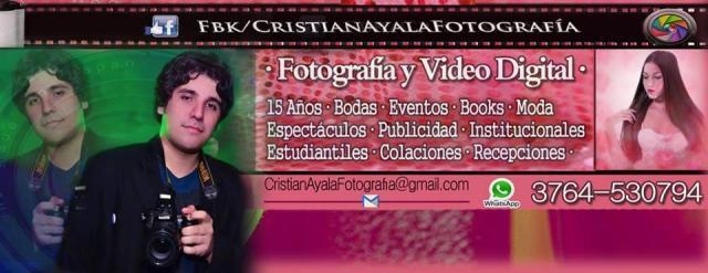 Cristian Ayala - Cobertura fotográfica de eventos