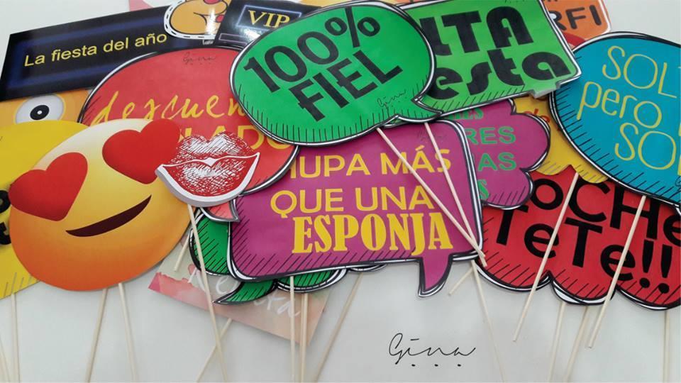 Gina Gráficas - Props para eventos!