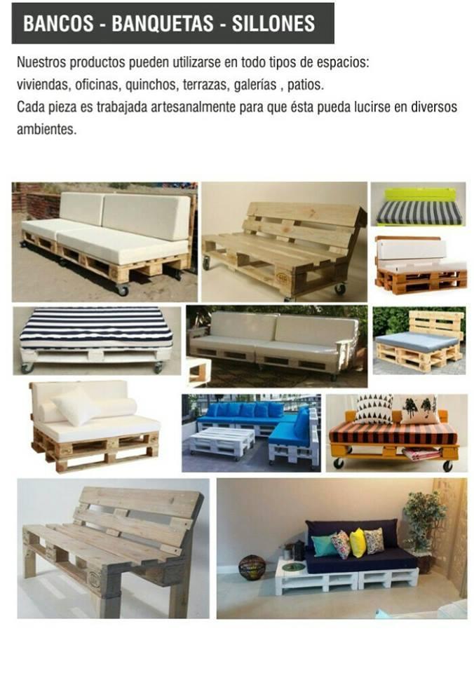 Gurú pallets - Bancos, banquetas y sillones
