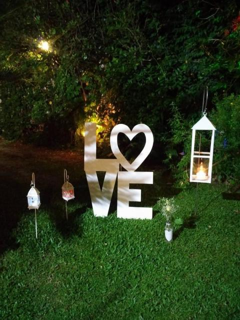 Outside Wedding  Party Design