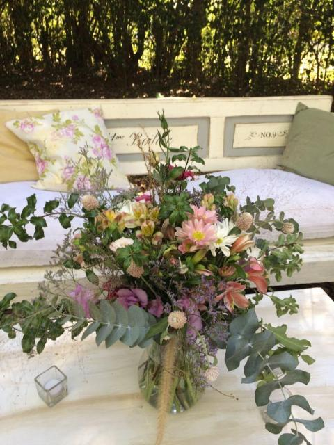 Arreglos de flores silvestres | Casamientos Online