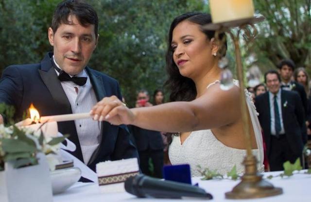 Ceremonia Laica Simbolica con Ritual de estrellitas luminosas | Casamientos Online