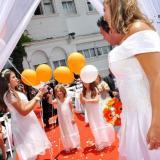 Ceremonia Laica Simbolica con Ritual de globos