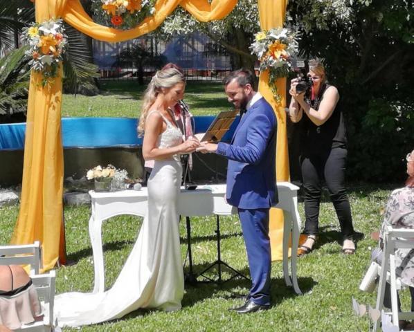 Luciana y Luciano ♥ | Casamientos Online