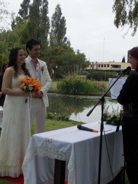Claudia y Javier ♥ | Casamientos Online