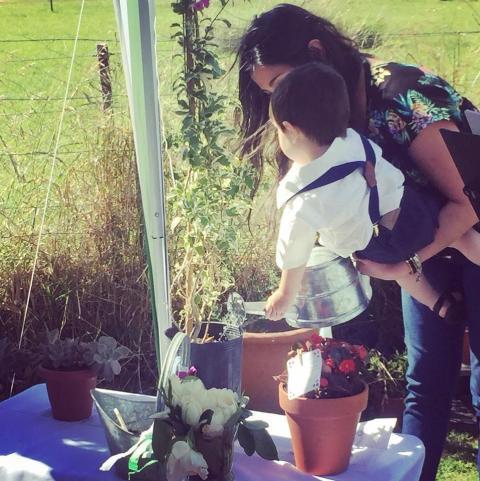 Ceremonia con Ritual de Plantación de árbol ó Planta