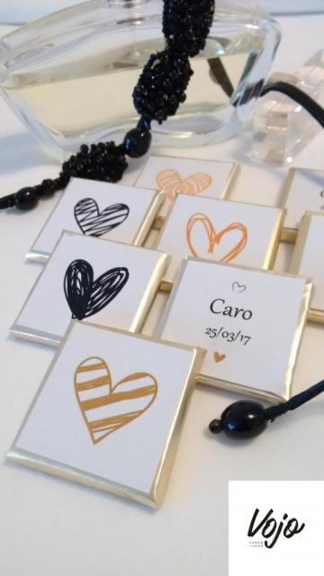 Chocolatinas Personalizadas | Casamientos Online