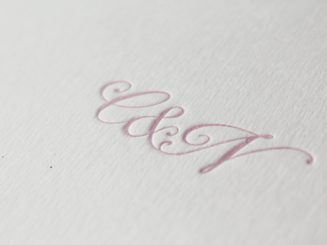 De Otoño Letterpress | Casamientos Online