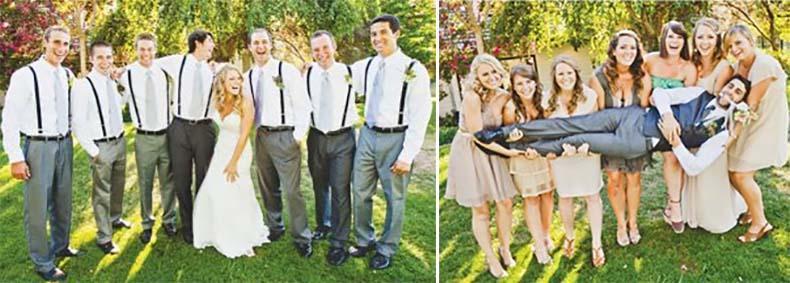 cómo se portan los invitados en los casamientos