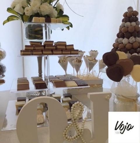 Mesa de chocolate | Casamientos Online