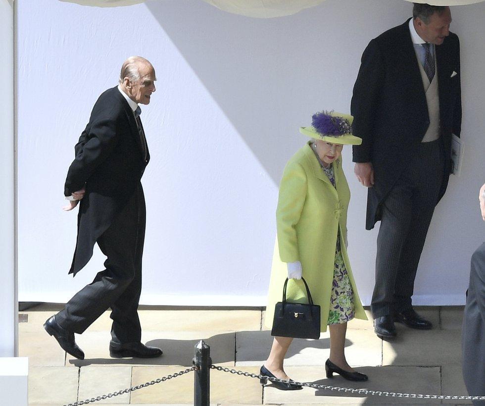 Los invitados de la corona británica