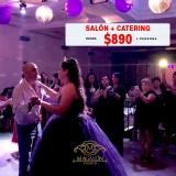 SALON + CATERING