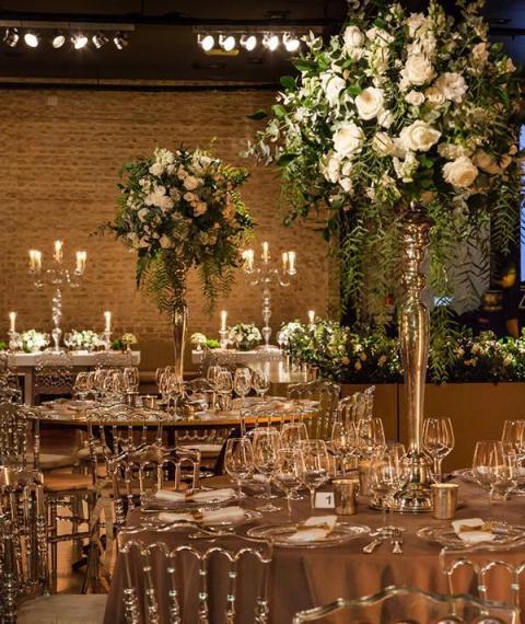 nuevos centros dorados  | Casamientos Online