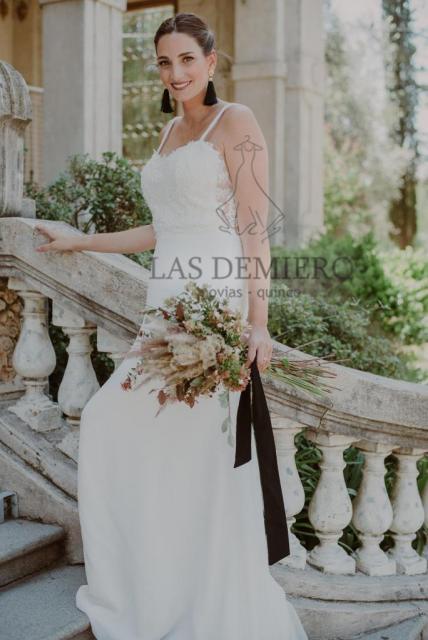 Vestido Crop Top | Casamientos Online