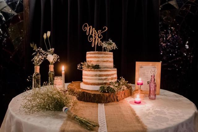 Deco mesa torta | Casamientos Online