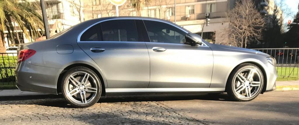Mercedes Benz Gris Clase E 2017