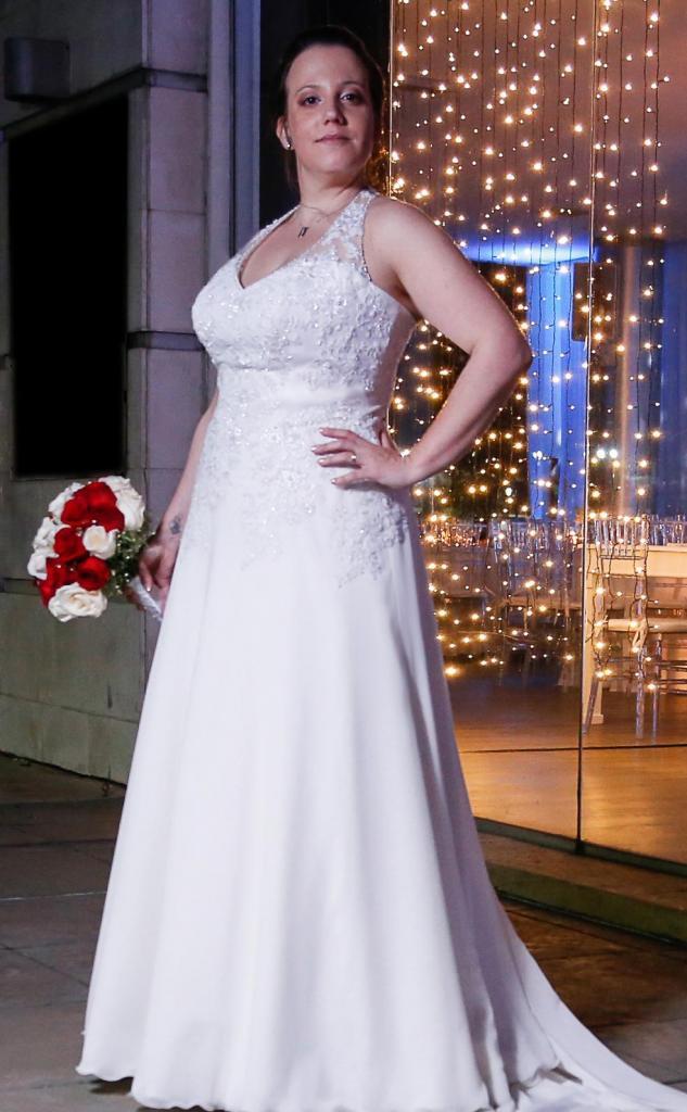 Vestido de Novia Romantico Daniela