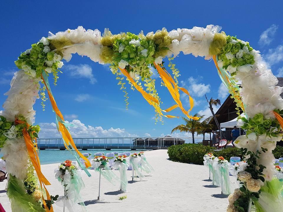 Club Med casamiento en la playa