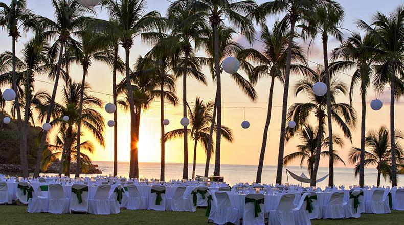 Club Med casamientos en la playa